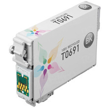 Remanufactured Epson T069120 (T0691) Black Ink Cartridges