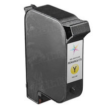 Remanufactured Replacement Ink Cartridge for Hewlett Packard C6173A Spot Color Yellow