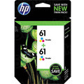 Original HP 61 Tri-Color Ink Pack CZ074FN