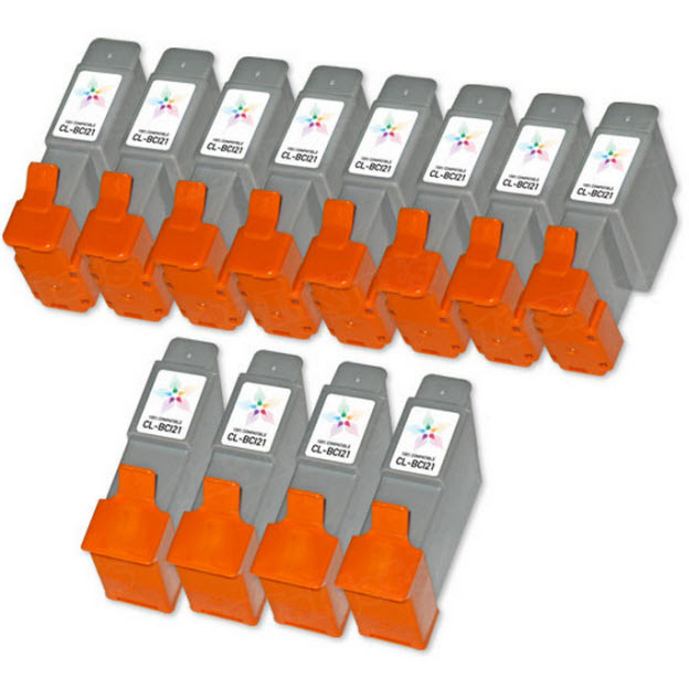 Canon Compatible BCI21 Ink Set of 12