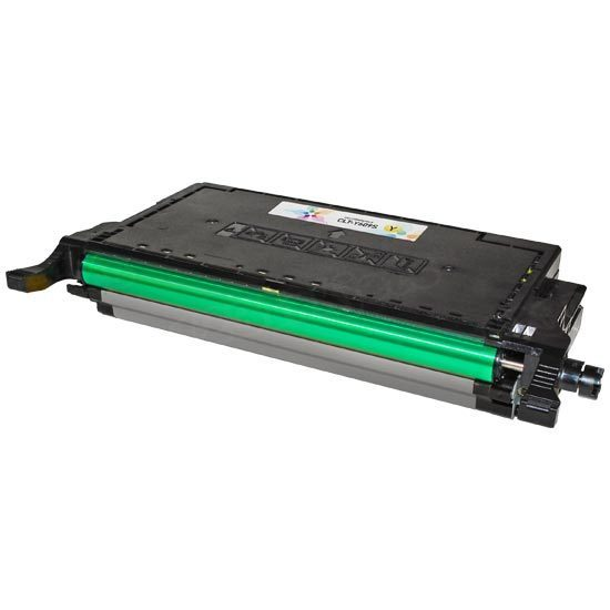 Remanufactured CLP-770ND & CLP-775ND Yellow Toner for Samsung (CLT-Y609S)