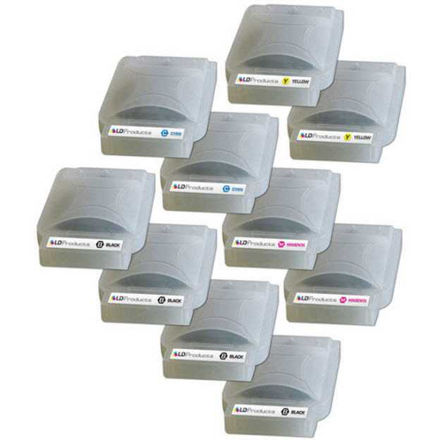 Brother Compatible LC25 Ink Set of 10