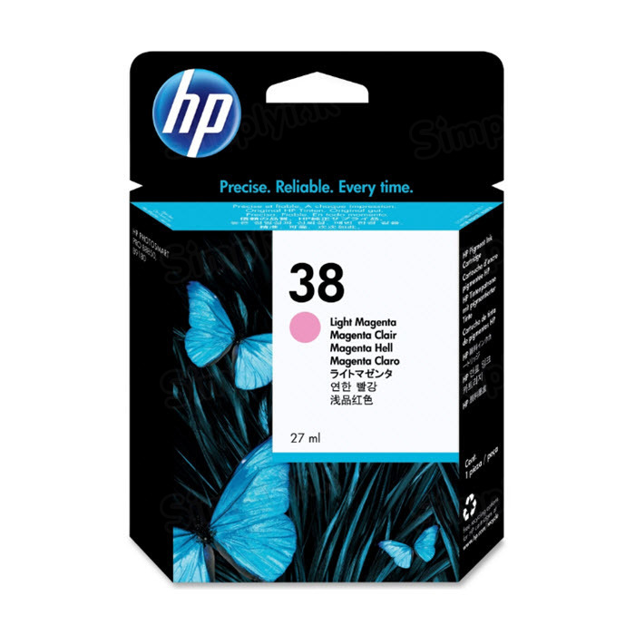 HP 38 Light Magenta Original Ink Cartridge C9419A