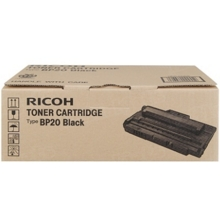 OEM Ricoh 402455 Black Laser Toner Cartridge, Type BP20