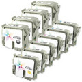 Epson Stylus C70 & C80 Remanufactured  Ink Set of 10
