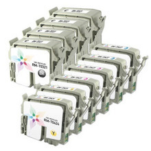 Remanufactured Epson Bulk Set of 10 Ink Cartridges 4 Black T032120 (T0321) and 2 each of: Cyan T042220 (T0422), Magenta T042320 (T0423), and Yellow T042420 (T0424)) for the Stylus C82, CX5200, CX5400