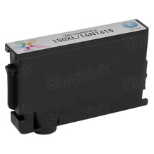 Compatible Lexmark 14N1615 (150XL) High Yield Cyan Ink Cartridges