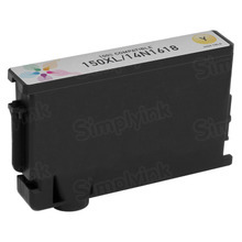 Compatible Lexmark 14N1618 (150XL) High Yield Yellow Ink Cartridges