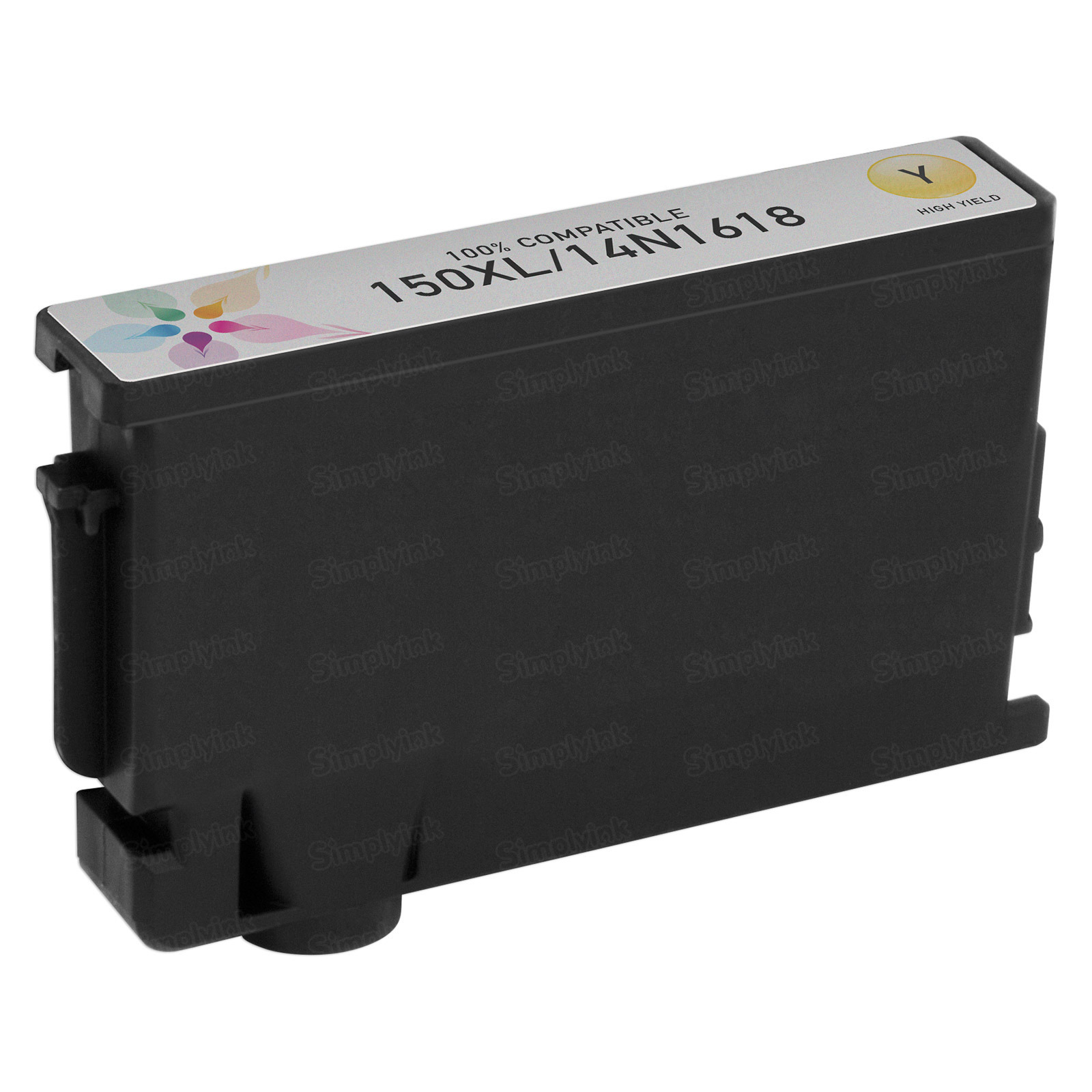 Lexmark Compatible 14N1618 Yellow Inkjet Cartridge