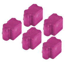 Compatible Xerox Set of 5 (Magenta) 016-2046-00 Solid Ink Blocks for the Phaser 8200