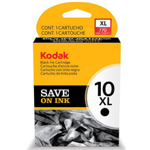 Kodak #10XL Black Inkjet Cartridge (8237216) OEM, High-Yield