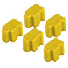 Compatible Xerox Set of 5 (Yellow) 016-2047-00 Solid Ink Blocks for the Phaser 8200