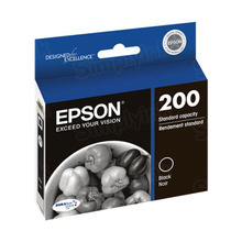 Original Epson 200 Black Inkjet Cartridge (T200120), Standard-Capacity