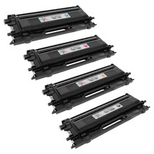 Remanufactured Brother TN115 High Yield Set Of 4 Laser Toner Cartridges: Black, Cyan, Magenta & Yellow