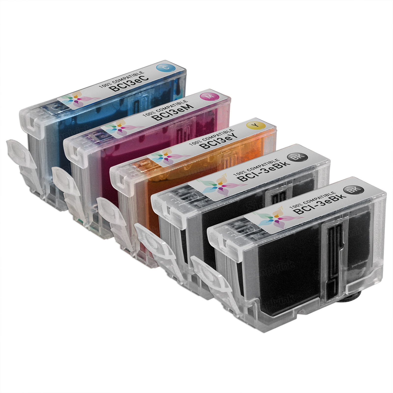 Canon BCI3e Compatible Ink Set of 5