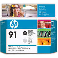 Original HP 91 Photo Black and Light Gray Printhead in Retail Packaging (C9463A)