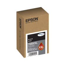 OEM Epson T748XXL120 DURABrite Extra High Yield Black Ink