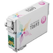 Remanufactured Epson T069320 (T0693) Magenta Ink Cartridges