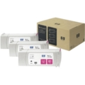 HP 81 Magenta Original Ink Cartridge 3PK C5068A