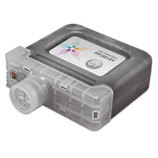 Canon Compatible PFI-301GY Gray Ink