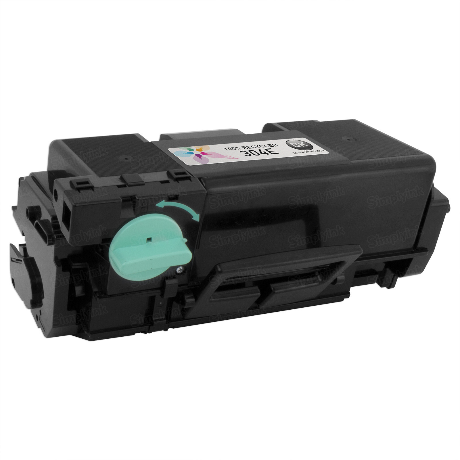 Remanufactured Extra High Yield Black Toner for Samsung (304E)