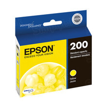Original Epson 200 Yellow Inkjet Cartridge (T200420), Standard-Capacity