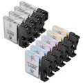 Brother Compatible LC65 HY Ink Set of 10