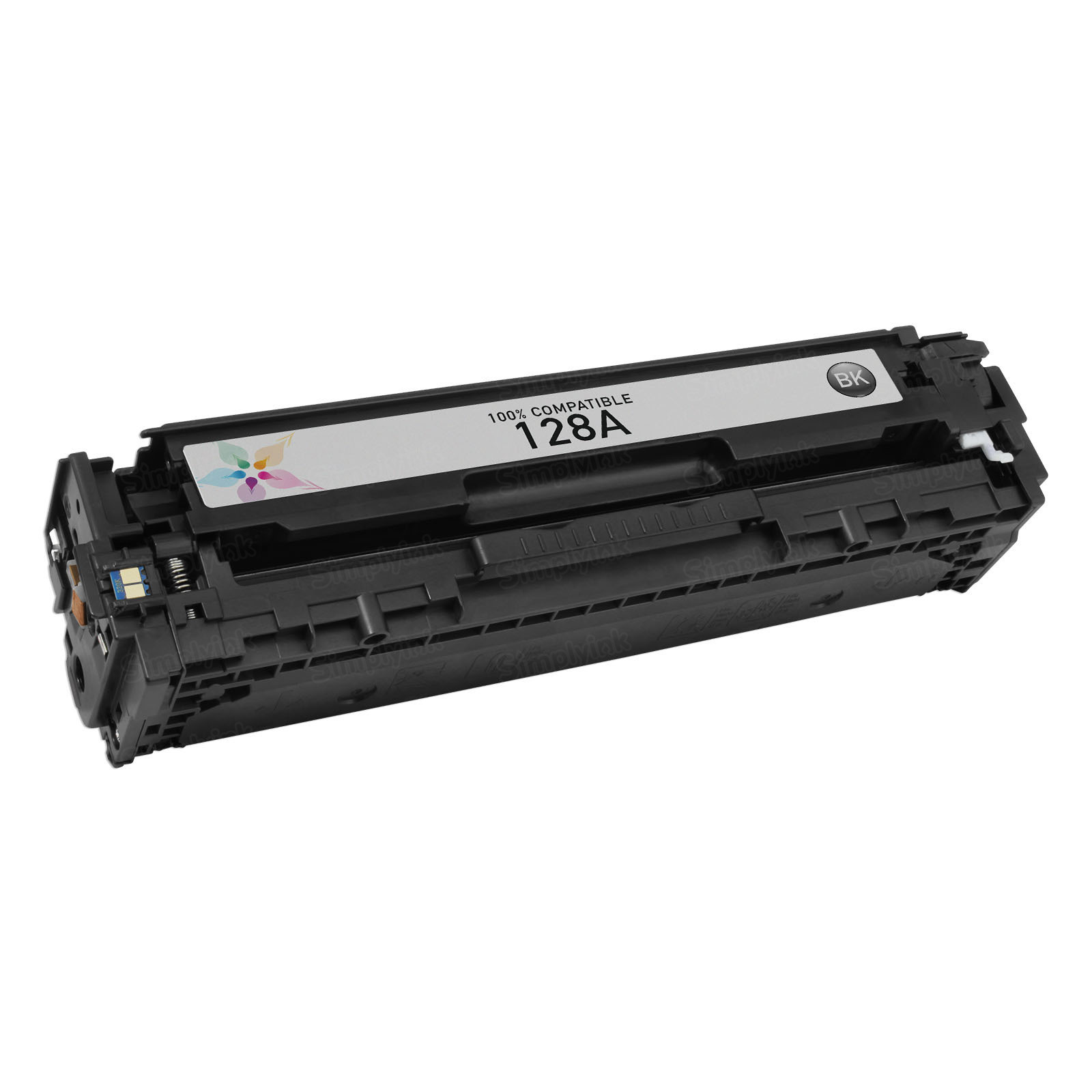 Remanufactured Replacement Black Laser Toner for HP 128A
