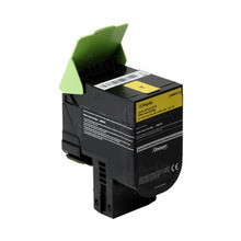 Lexmark OEM Extra High Yield Yellow Laser Toner Cartridge, 24B6010 (XC2132) (3,000 Page Yield)u00a0