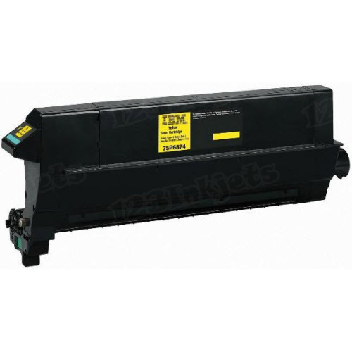 OEM IBM 75P6874 Yellow Toner Cartridge