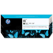 Original HP 91 Matte Black Ink Cartridge in Retail Packaging (C9464A)