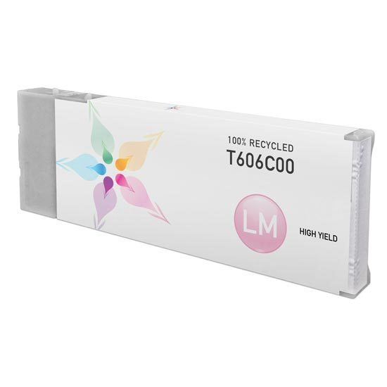Epson Remanufactured T606C00 HY Light Magenta Inkjet Cartridge