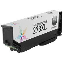 Remanufactured Replacement for Epson T273XL120 (273XL) High Yield Photo Black Ink Cartridges