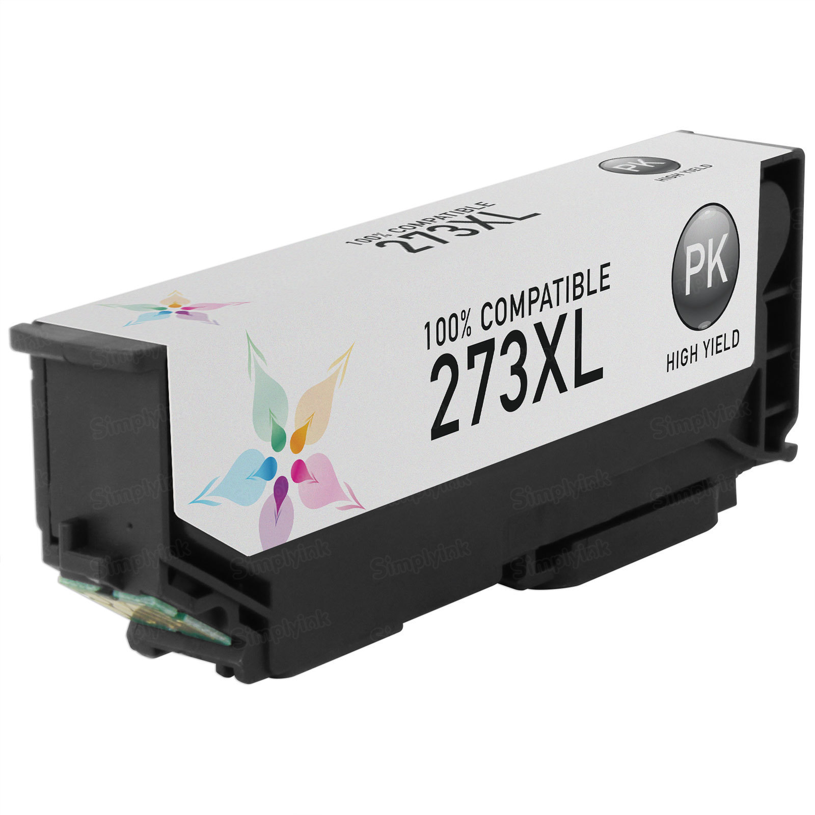 Epson Remanufactured T273XL120 HY Photo Black Inkjet Cartridge
