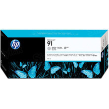 Original HP 91 Light Gray Ink Cartridge in Retail Packaging (C9466A)