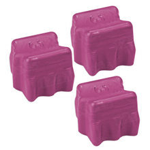 Compatible Xerox Set of 3 Magenta 108R00606 Solid Ink Blocks for the Phaser 8400