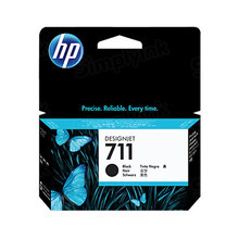 Original HP 711 Black Ink Cartridge in Retail Packaging (CZ129A)