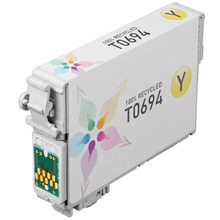 Remanufactured Epson T069420 (T0694) Yellow Ink Cartridges