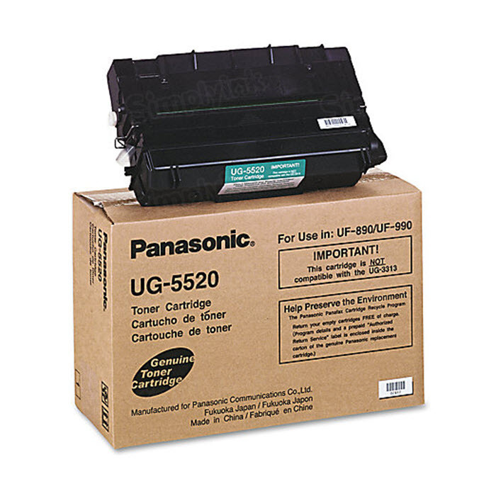 OEM Panasonic UG-5520 Black Toner Cartridge
