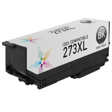 Remanufactured Replacement for Epson T273XL020 (273XL) High Yield Black Ink Cartridges