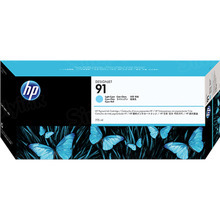 Original HP 91 Light Cyan Ink Cartridge in Retail Packaging (C9470A)