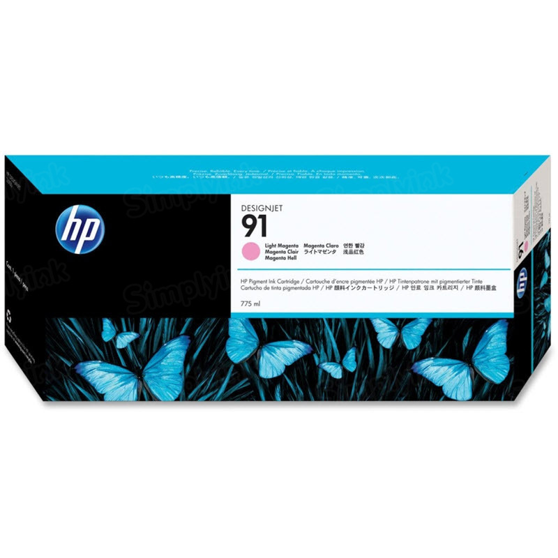 HP 91 Light Magenta Original Ink Cartridge C9471A