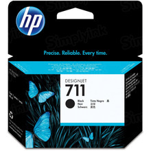 Original HP 711 High Yield Black Ink Cartridge in Retail Packaging (CZ133A)