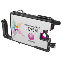 Compatible Brother LC75M High Yield Magenta Ink Cartridges