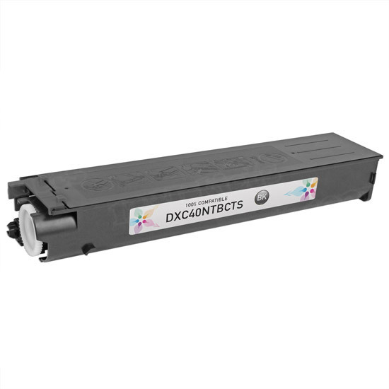 Sharp Compatible DX-C40NTB Black Toner