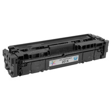 Compatible Brand Replacement for HP CF401X (201X) High Yield Cyan Laser Toner Cartridge