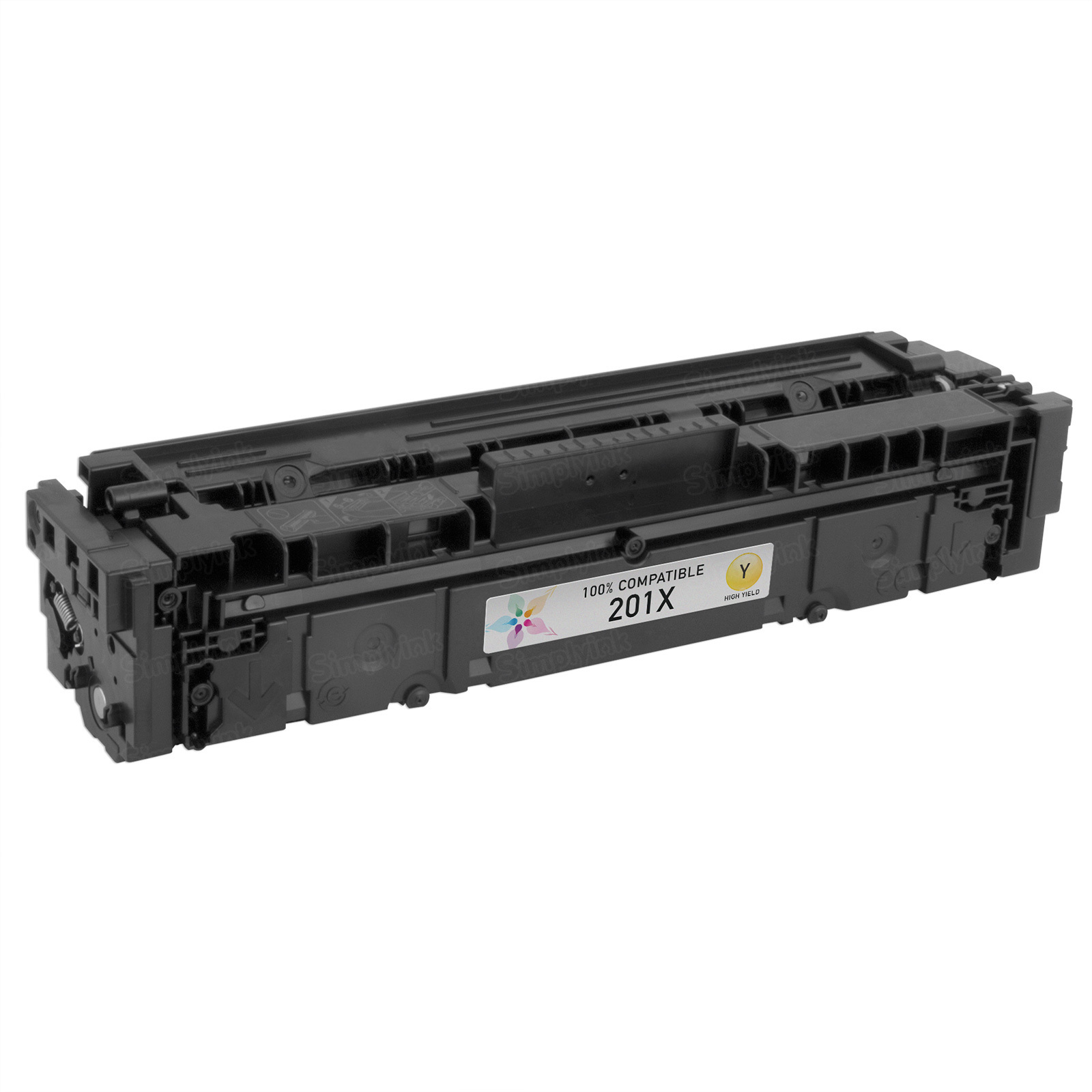 Compatible Brand HY Yellow Laser Toner for HP 201X