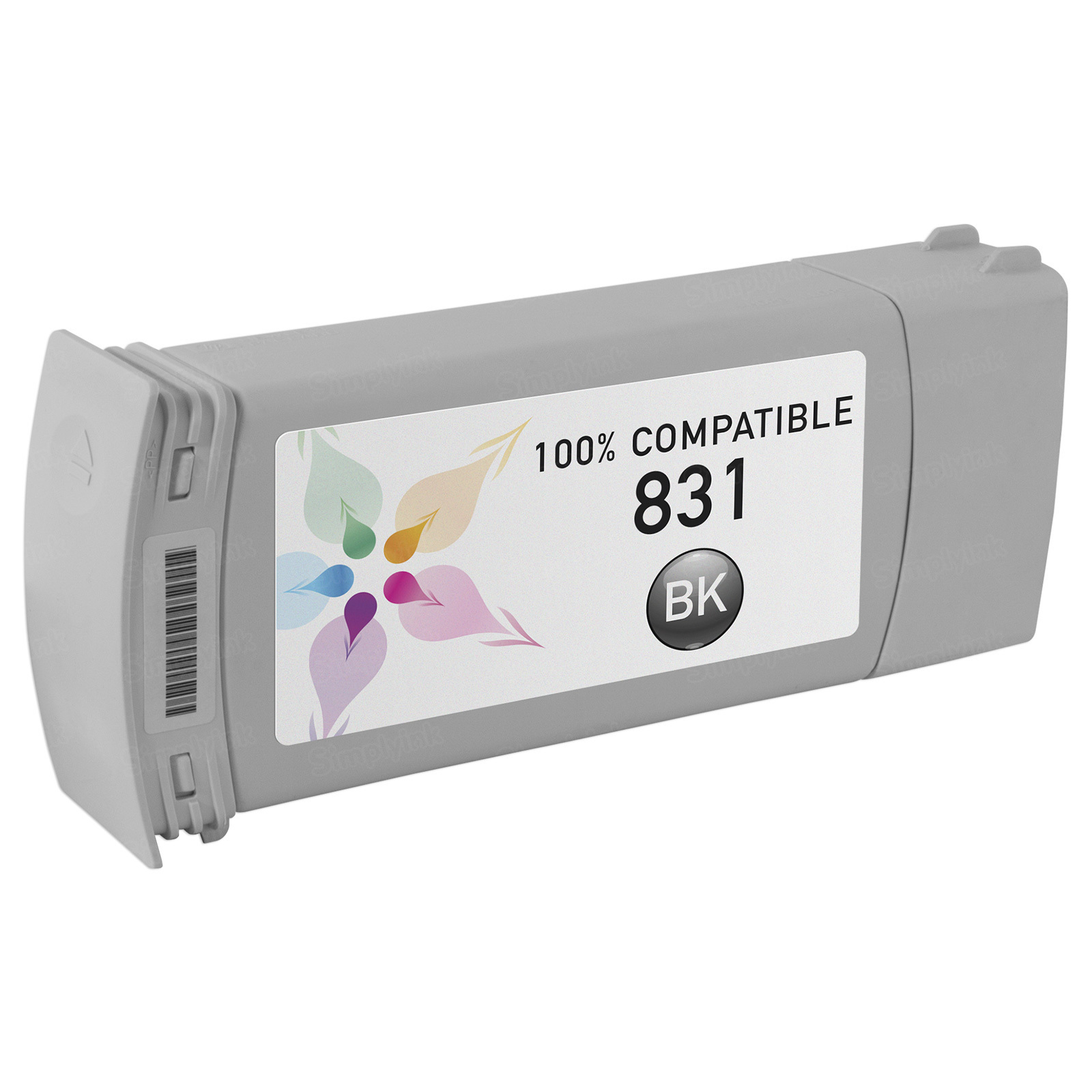 Compatible Brand Black Latex Ink for HP 831