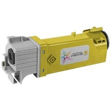 Compatible Alternative to Dell 331-0718 (D6FXJ) High Yield Yellow Laser Toner Cartridges for the Color Laser 2150, 2155