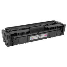 Compatible Brand Replacement for HP CF403X (201X) High Yield Magenta Laser Toner Cartridge